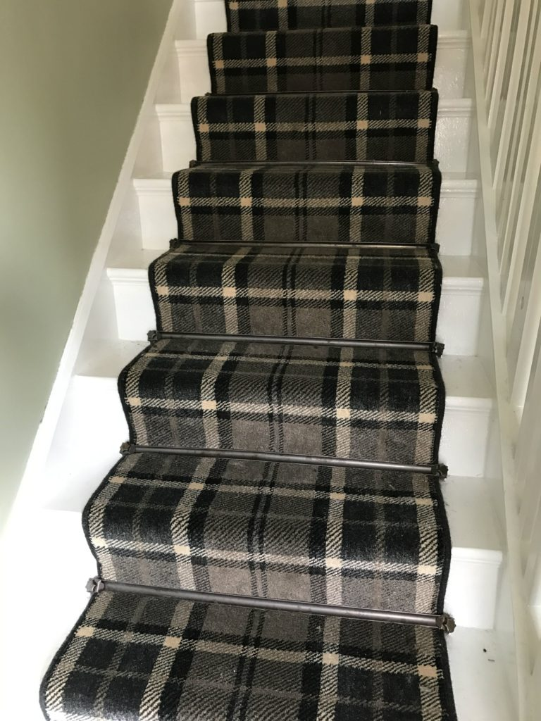 patterned carpet leicester tartan