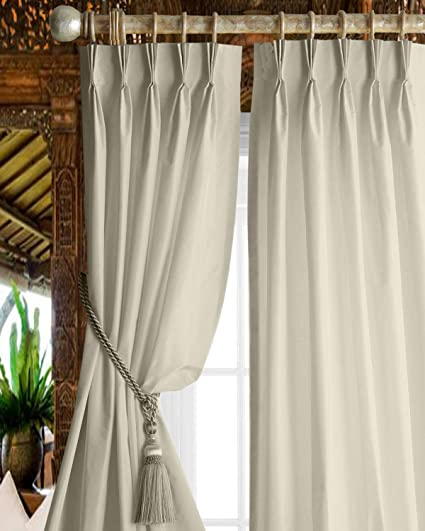 triple pleated curtains leicester