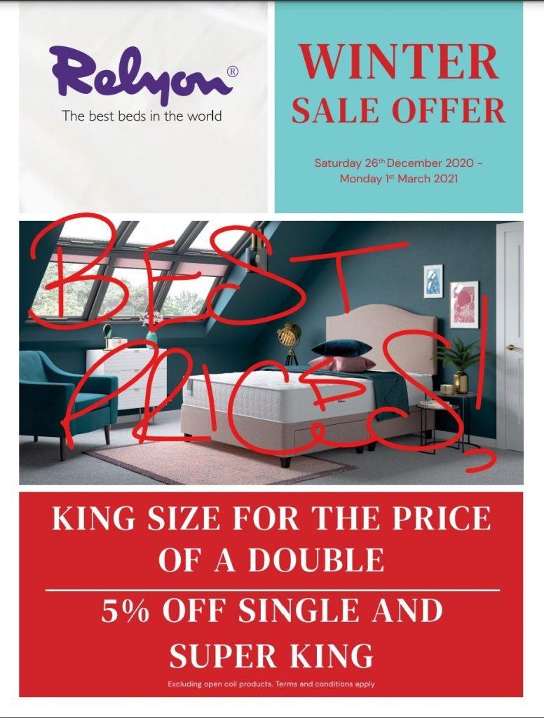 relyon beds & Mattresses sale